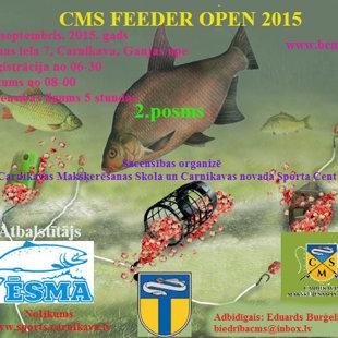 CMS FEEDER OPEN 2015, 2. Этап