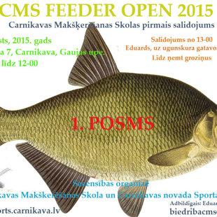 CMS FEEDER OPEN 2015, 1. Этап