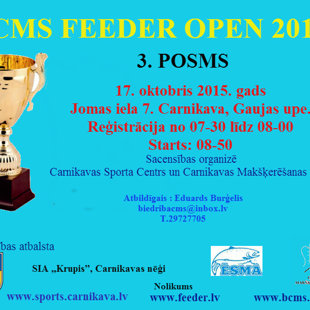 CMS FEEDER OPEN 2015. 3. POSMS