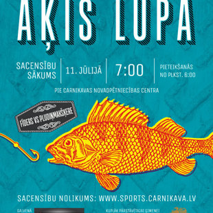 ĀĶIS LŪPĀ 2015 Fisherman's Day